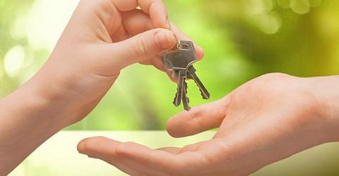 Key. Keys and hands