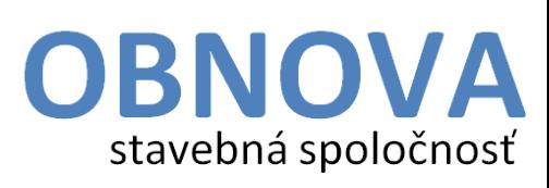 Ing. Štefan Jantolák OBNOVA stavebná spoločnosť